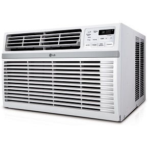LG Electronics LW8014ER Energy Star 115-volt Window-Mounted Air Conditioner with Remote Control