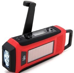 Epica Emergency Solar Hand Crank AM/FM/NOAA Digital Radio