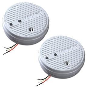 Kidde 1275 Hardwire Smoke Alarm with Hush Feature and Battery Backup