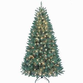 Kurt Adler Pre-Lit Point Pine Tree