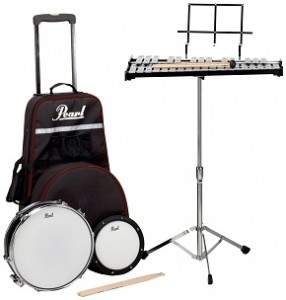 Pearl PL900C Educational Kits Snare & Bell Kit