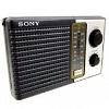 Sony ICF-F10 Two 2 Band FM/AM Portable Battery Transistor Radio