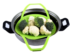 LIG Premium Silicone Vegetable Steamer