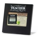 A Caring Heart Teacher Chalkboard Photo Frame