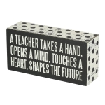 A Teacher Primitives by Kathy Box Sign