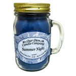 Summer Night Scented 13 Ounce Mason Jar Candle By Our Own Candle Company