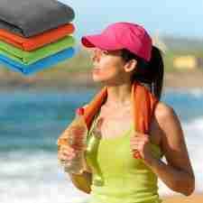 Quick Dry /& Antibacterial ... ECOdept Microfibre Travel Towel ~ Super Absorbent