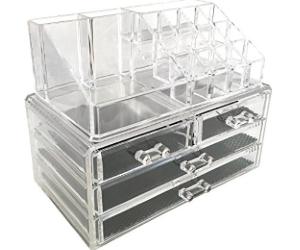sodynee-jewelry-and-cosmetic-storage-2-piece-acrylic-makeup-organizer