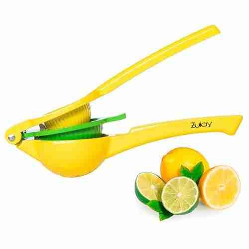 Zulay Premium Quality Metal Lemon Lime Squeezer